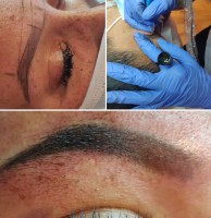 student's ombre brow