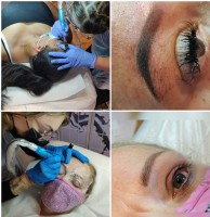 student's brows & eyes