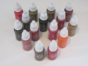 Bio Touch pigments
